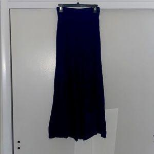 Flowy navy blue pants